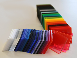 Perspex Color Set